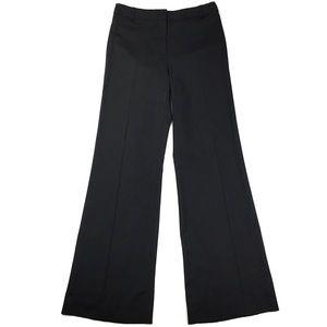 BCBGMaxAzria Wool Blend Pinstripe Wide Leg Pant